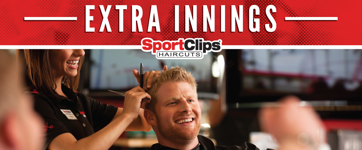 The Sport Clips Haircuts of Kernersville  Extra Innings Offerings
